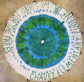 Kindergarden ar Ceaser E. Chavez Elementary School