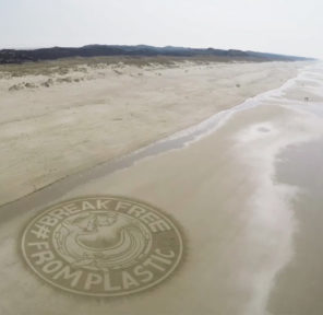 European Environmental Bureau Sand Murals