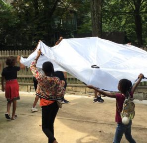 In A Perfect World - 28 schools worldwide (10 Parachutes)