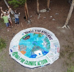 Road for Climate Action, Trip Around USA - Santiago High School