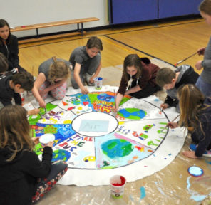 Rosemont Elementary School (19 Parachutes)