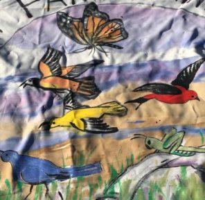 Art Farm Fennville (2 Parachutes)