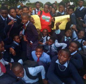 Think Green Zambia (15 Parachutes)