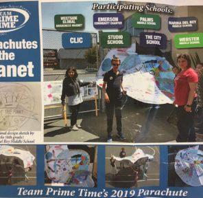Team Prime Time - Multiple Schools - 2nd Parachute