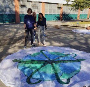 Bronx Science High School (10 Parachutes)