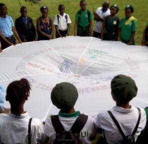 Sierra Leone Green Clubs / Schools (10 Parachutes)