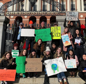 Fridays For Future Boston (2 Parachutes)