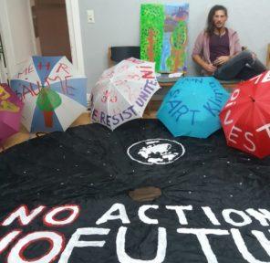 Artist Consuelo Mendez (13 Parachutes)
