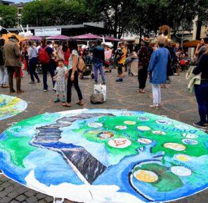 SDG Action Zone - September 25, 2020 (12 Parachutes)