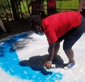 Caroline Wambui Gacheru Environment Group (3 Parachutes)